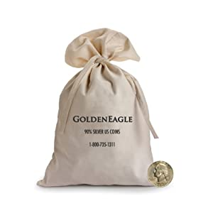 90% Silver Bag Washington Quarters $1000 Face (4000 pcs.)