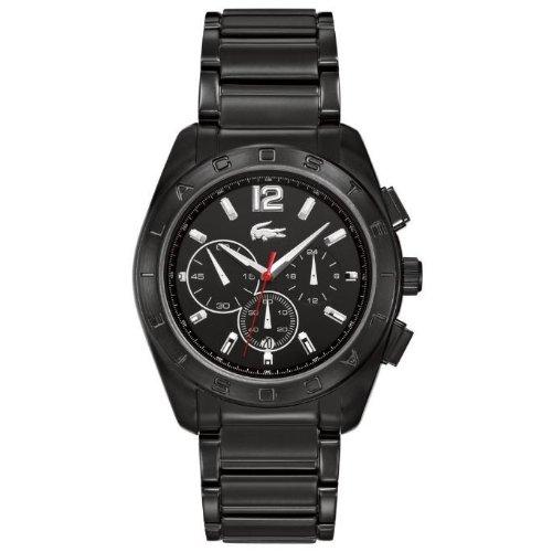 Lacoste Men's 2010605 Panama Black Ip Chronograph Watch