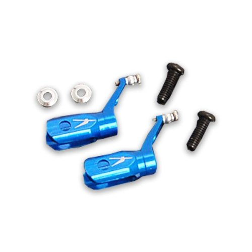 Xtreme Metal Blade Grip Set Blue MCPX (Blade Mcpx Helicopter compare prices)