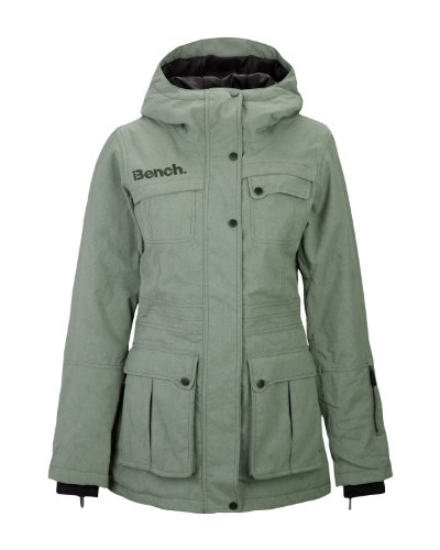 Bench Damen Funktionsjacke Storm Star, Deep Lichen Green, M, Blkf0010_Kh017