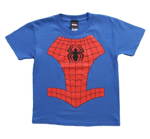 Spider-Man Costume Style Juvenile Kids Marvel T-Shirt