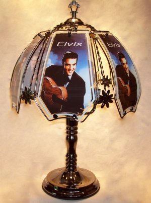 Elvis Presley Touch Lamp