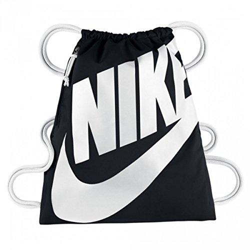 Nike NIKE HERITAGE GYMSACK Borsa, Nero, One size, Donna