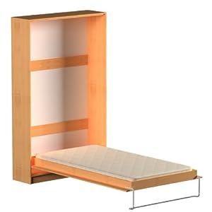 schrankklappbett burg 120x200 cm holzfarbe erle. Black Bedroom Furniture Sets. Home Design Ideas