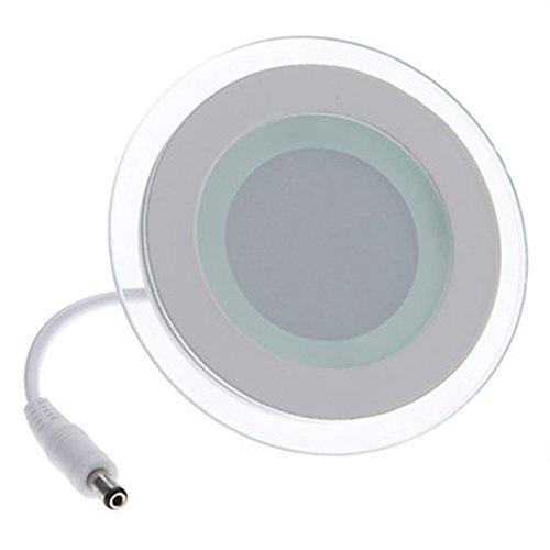 Generic 6W 600-660Lm 3000-3500K Warm White Light Round Led Ceiling Bulb (110-240V)