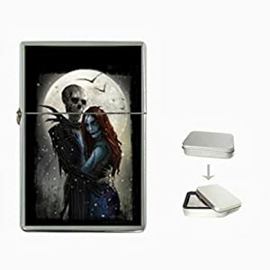 The Nightmare Before Christmas 5 Flip Top Lighter and Case Box