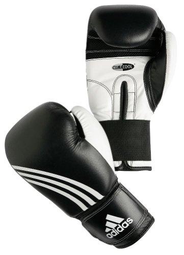 adidas Boxhandschuhe Perfomer, Schwarz/weiß, 18 oz, ADIBC01