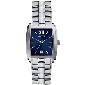 Nautica Men's Dress Watch N10502G Blue Dial