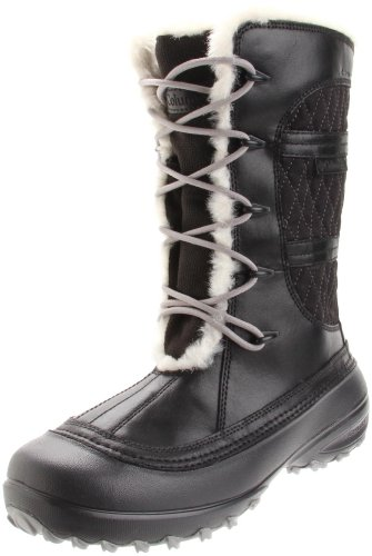Columbia Women's Heather Canyon Wp Boots Black Noir (Black 010) 8 (42 EU)