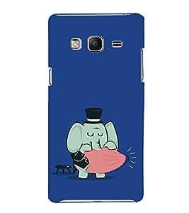 EPICCASE Funny elephant Mobile Back Case Cover For Samsung Tizen Z3 (Designer Case)