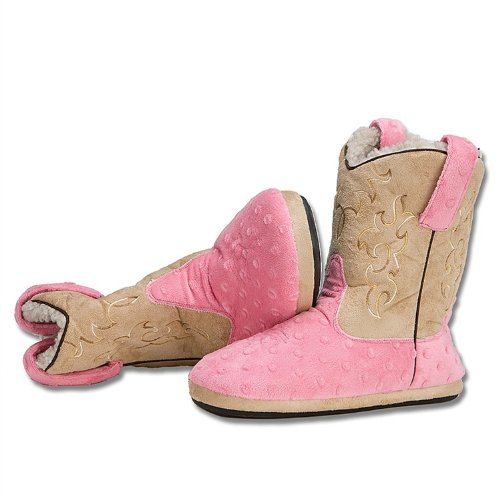 Cheap Ladies Pink/Tan Cowboy Kickers (B004LE4D1I)