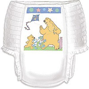 Curity Runarounds Girl Training Pants Large 32 - 40 Lbs. [Bag Of 23] front-909395