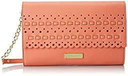 Anne Klein Let The Sunshine In Clutch, Coral Reef, One Size