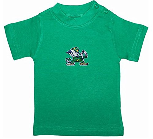 Notre Dame Fighting Irish Green NCAA College Toddler Baby T-Shirt Tee