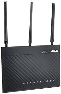 ASUSTek 11a/b/g/n/ac対応 1300+600Mbps無線ルーター Aiprotection powered by Trendmicro RT-AC68U