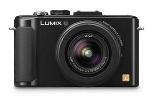 Panasonic Lumix DMC-LX7EG-K Digitalkamera (10 Megapixel, 3,8-fach opt. Zoom, 7,5 cm (3 Zoll) Display, Bildstabilisator, HDMI, Full-HD Video) schwarz