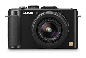 Panasonic Lumix LX7 Digital Camera with LEICA F1.4 Summilux Lens - Black (10.1 MP, 3.8x Optical Zoom) 3 inch LCD