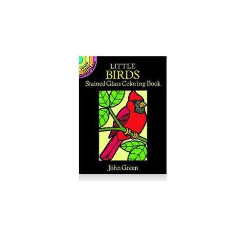 Dover Stained Glass Coloring Book Birds