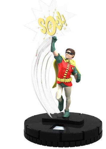 DC Heroclix Batman Classic TV #003 Robin Figure with Card - 1