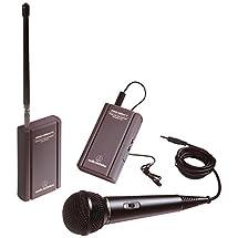Audio-Technica ATR288W VHF Battery-Powered TwinMic Microphone System