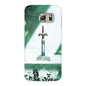 Delighted Sword Grave Multicolor Back Case Cover for Samsung Galaxy S6 Edge Plus