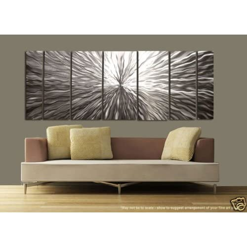 Vortex Modern Abstract Metal Wall Art Painting Decor Sculpture