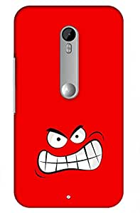angry Printed Case for Motorola Moto X Play