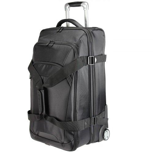 Dermata Rollenreisetasche 66 cm (schwarz)