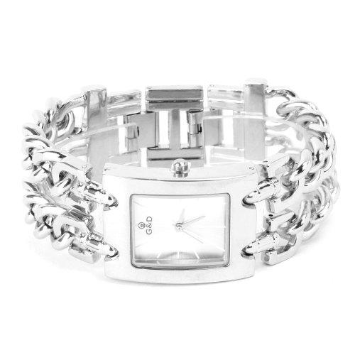 Yesurprise New Fashion Luxury Stainless Steel quartz women's watch for Birthday Gift #1
