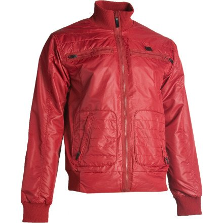 DC Bryce Jacket - Men's Biking Red, M