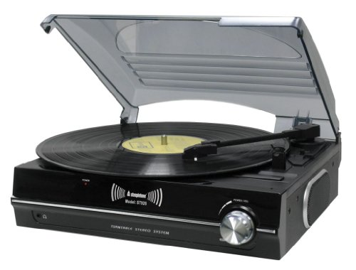 Other dj equipment steepletone st926 3 speed record for Car turntable plans