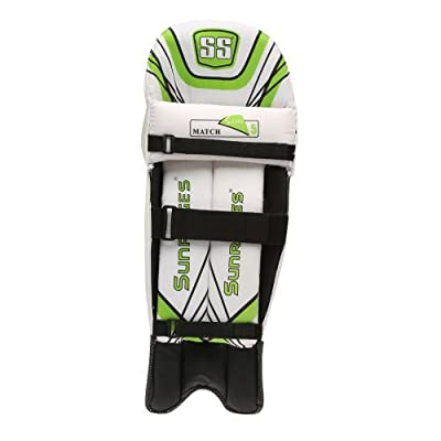 SS Match Men's RH Batting Legguard (White)