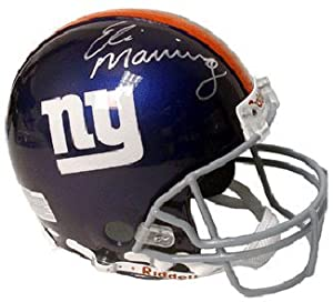 Eli Manning signed New York Giants Full Size Replica Helmet- Steiner Hologram by Athlon Sports Collectibles