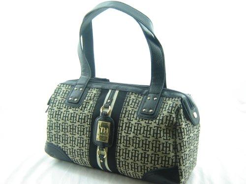 Tommy HilfigerTommy Hilfiger Leeds Satchel Handbag Purse Black