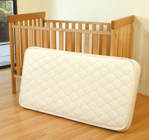 Pure Rest Organic Rubber Crib Mattress