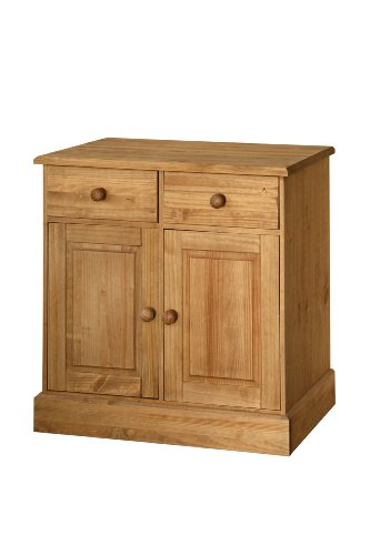 Cotswold Solid Pine 2 Drawer 2 Door Sideboard