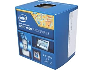 Intel Xeon E3-1276 v3 Haswell 3.6GHz 8MB L3 Cache LGA 1150 84W Server Processor BX80646E31276V3