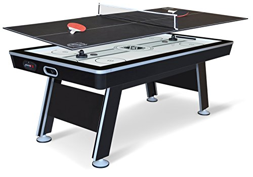 NHL 80-Inch Hover Hockey Game with Table Tennis Top