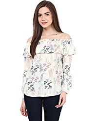 Printed Bardot Full Sleeves Small