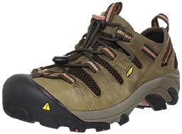 KEEN Utility Men\'s Atlanta Cool Steel Toe Work Shoe,Shitake,10 EE US