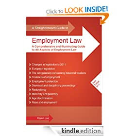 Straightforward Guide to Employment Law, A