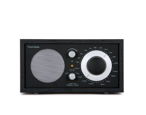 Tivoli AudioModel One AM / FM Table Radio, Black / Silver (Tivoli Model One compare prices)