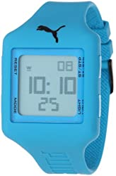 PUMA Unisex PU910791004 Slide-Large Deep Blue Digital Watch
