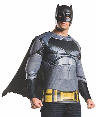 Rubie's Men's Batman v Superman: Dawn of Justice Batman Muscle Chest Top at Gotham City Store