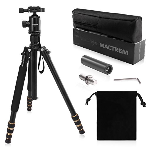 Zomei-Portable-Camera-Magnesium-Aluminium-Tripod-Monopod-Tripod-With-Ball-Head-Pocket