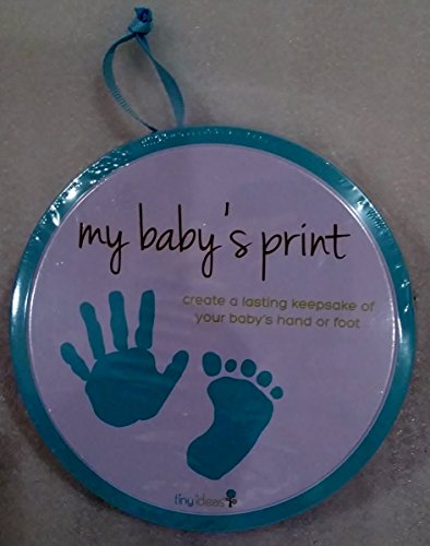 Tiny Ideas My Baby's Print Hand or Foot Print