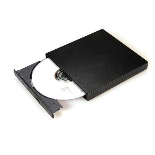 extern USB 2.0 DVD CD Burner Combo , portabler external Drive , slim * Notebook and Laptop compatibel , CD-R / CD-RW / DVD-ROM / DVD-R / DVD-RW