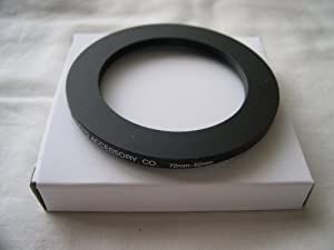 HeavyStar Dedicated Metal Step Down Ring 72-52mm