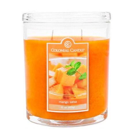 Colonial Candle - Mango Salsa 22 oz Oval Jar-2 per case (Colonial Candle Mango Salsa compare prices)