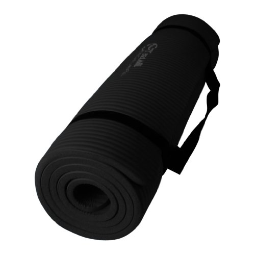 Black NPR Yoga Mat 68x24x1/2